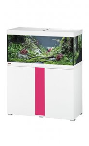 Eheim Vivaline LED 180 Aquarium with Cabinet White with Candy Panel