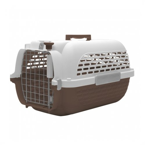 DogIt Voyageur 100 Small Brown & White