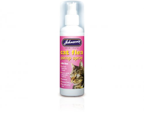 Johnsons Cat Flea Pump Spray 100ml