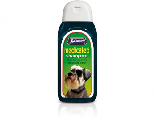 Johnsons Medicated Shampoo 125ml
