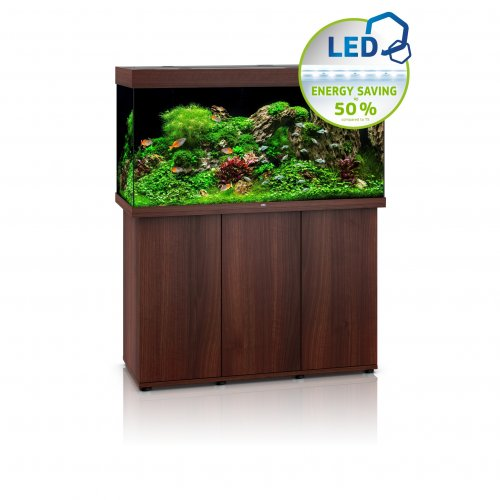 Juwel Rio 350 LED Aquarium with Cabinet Dark Wood