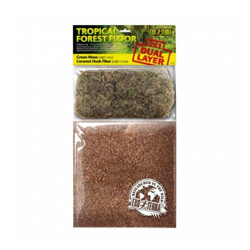 Exo Terra Dual Moss & Coco Husk Substrate Small