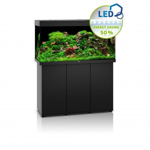 Juwel Rio 350 LED Aquarium with Cabinet Black