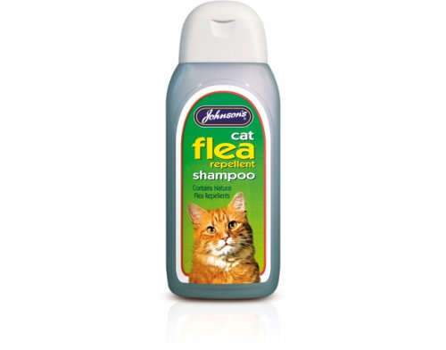 Johnsons Cat Flea Cleansing Shampoo 125ml