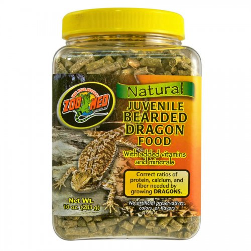Zoo Med Bearded Dragon Food Review