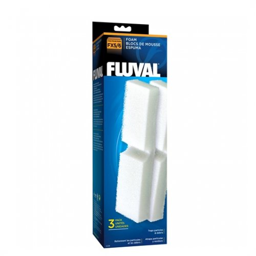 Fluval FX 4/5/6 foam block (3pcs)