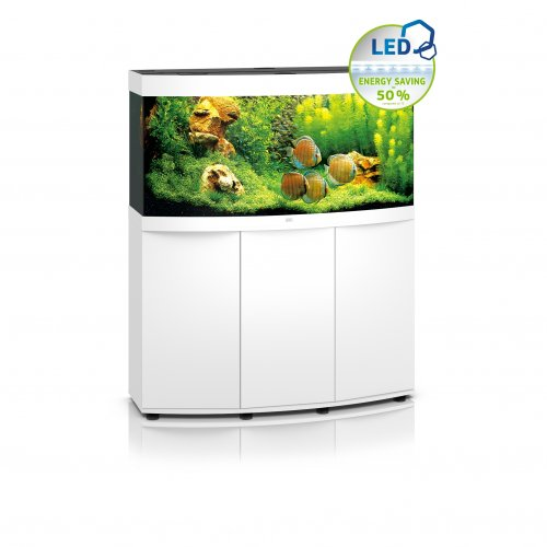 Juwel Vision 260 LED Aquarium with Cabinet White