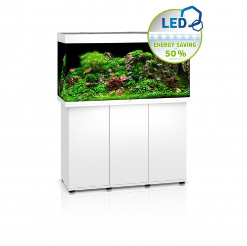 Juwel Rio 350 LED Aquarium with Cabinet White