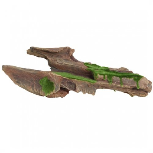 Fluval Decor Brown Driftwood with Moss Large 44cm