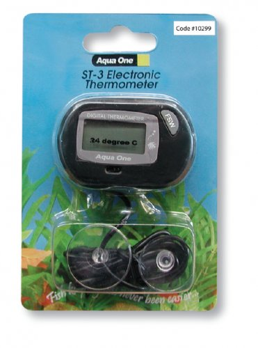 Aqua One LCD Electronic Thermometer ST-3