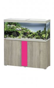 Eheim Vivaline LED 240 Aquarium with Cabinet Oak Grey with Candy Panel