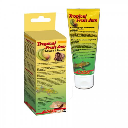 Lucky Reptile Tropical Fruit Jam Mango & Banana 100ml