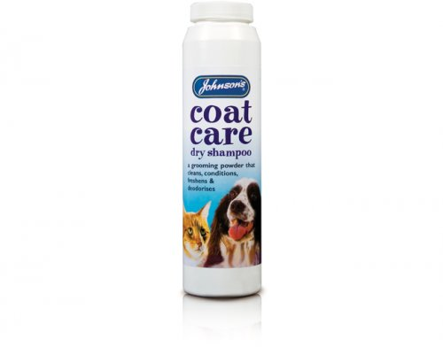 Johnsons Coat Care Dry Shampoo 85g