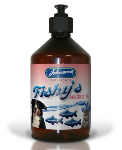 Johnsons Fishys Salmon Oil 500ml