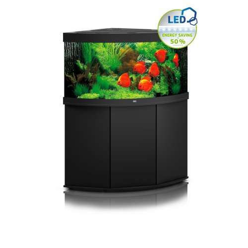 Juwel Trigon 350 LED Aquarium with Cabinet Black