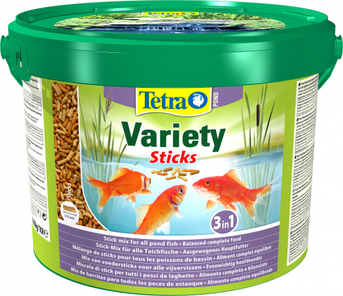 Tetra Pond Variety Sticks 1650g / 10L Bucket