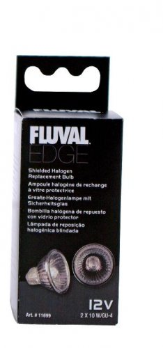 Fluval Edge Halogen Replacement Bulbs 2 x 10w