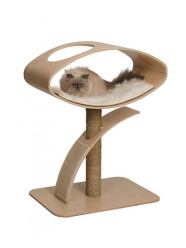 Vesper Cat Furniture, V-High Lounge Poplar