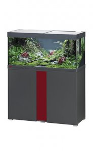 Eheim Vivaline LED 180 Aquarium with Cabinet Anthracite with Bordeaux Panel