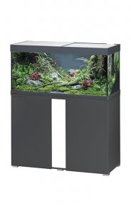 Eheim Vivaline LED 180 Aquarium with Cabinet Anthracite with White Panel