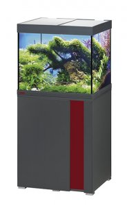 Eheim Vivaline LED 150 Aquarium with Cabinet Anthracite with Bordeaux Panel