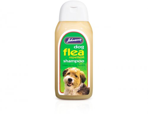 Johnsons Dog Flea Cleansing Shampoo 200ml