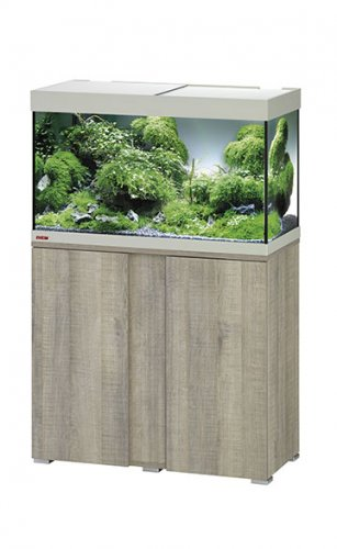 Eheim Vivaline LED 126 Aquarium with Cabinet Oak Grey