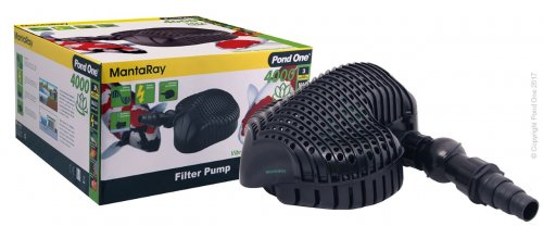 Pond One MantaRay 8000 Filter Pump