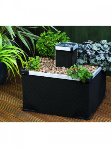 Blagdon Liberty Planter Black Aluminium Feature