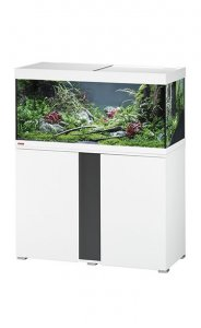 Eheim Vivaline LED 180 Aquarium with Cabinet White with Anthracite Panel