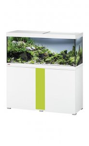 Eheim Vivaline LED 240 Aquarium with Cabinet White with Lemon Panel