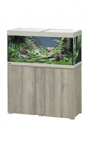 Eheim Vivaline LED 180 Aquarium with Cabinet Oak Grey