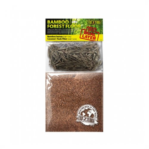 Exo Terra Dual Bamboo & Coco Husk Substrate Small
