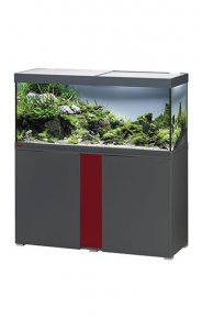 Eheim Vivaline LED 240 Aquarium with Cabinet Anthracite with Bordeaux Panel
