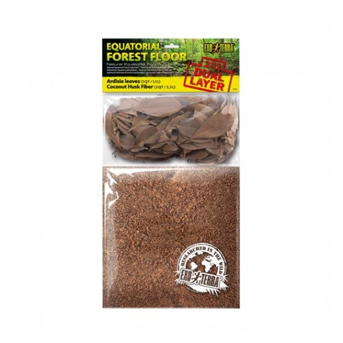Exo Terra Dual Leaves & Coco Husk Substrate Small