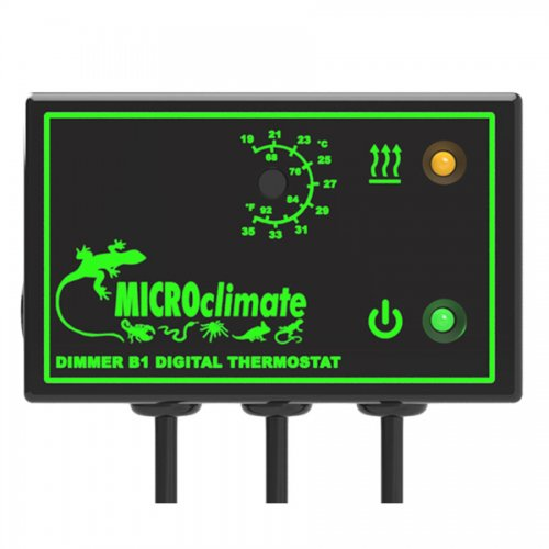 Micro Climate B1 Dimmer Stat 600W Black