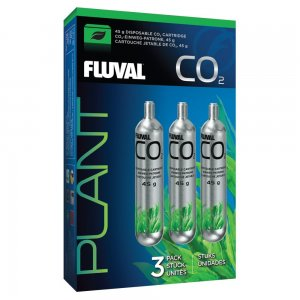 Fluval Pressurized Disposable CO2 Cartridges 45g (3pcs)