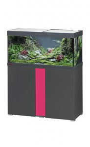 Eheim Vivaline LED 180 Aquarium with Cabinet Anthracite with Candy Panel