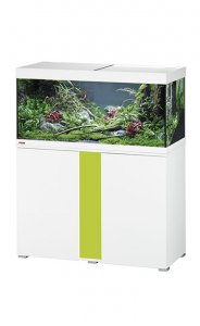 Eheim Vivaline LED 180 Aquarium with Cabinet White with Lemon Panel