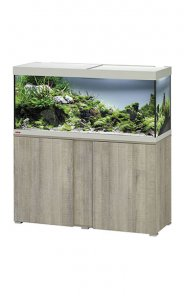 Eheim Vivaline LED 240 Aquarium with Cabinet Oak Grey