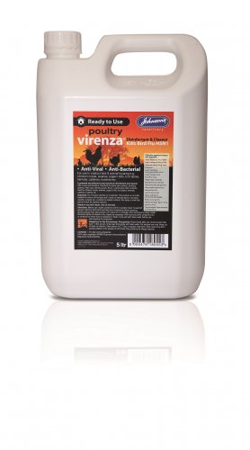 Johnson's Virenza Poultry Disinfectant 5 Litre