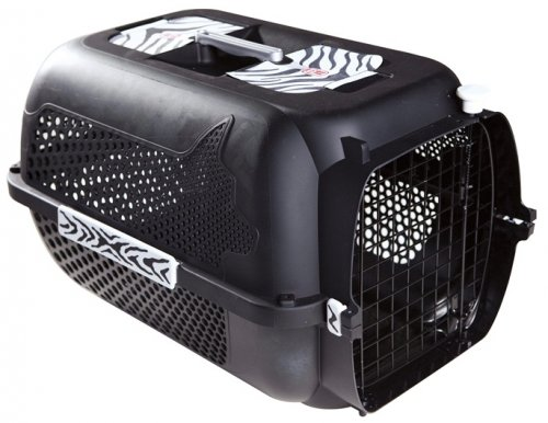 Catit Profile Voyageur Carrier - Small Black Tiger Pattern