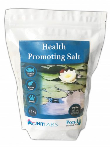 NT Labs Pond Salt 2.5kg
