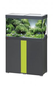 Eheim Vivaline LED 126 Aquarium with Cabinet Anthracite with Lemon Panel