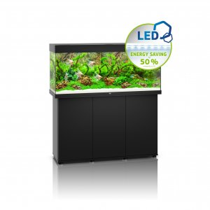 Juwel Rio 240 LED Aquarium with Cabinet Black