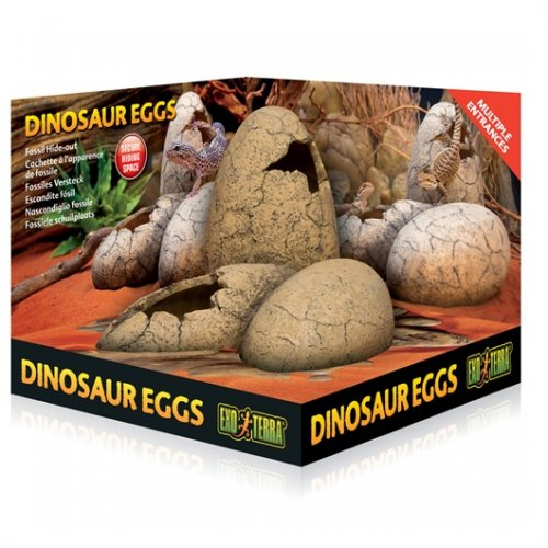 Exo Terra Dinosaur Eggs Fossil Hide out