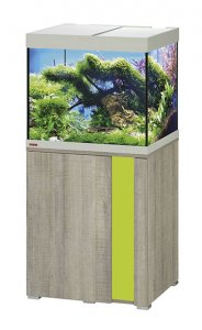 Eheim Vivaline LED 150 Aquarium with Cabinet Oak Grey with Lemon Panel