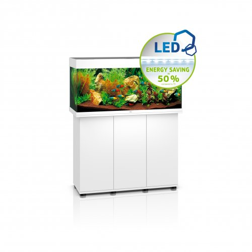 Juwel Rio 180 LED Aquarium with Cabinet White
