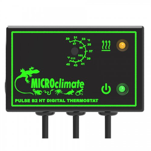 Micro Climate B2HT High Temperature Pulse Thermostat 600W Black