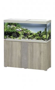 Eheim Vivaline LED 240 Aquarium with Cabinet Oak Grey with Urban Panel